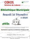 Spectacle OIKOS histoires des maisons samedi 16 décembre 15h30 Aubigny sur Nère