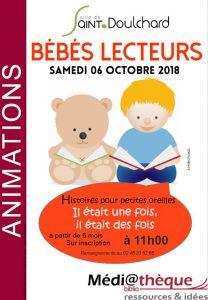 Bébés Lecteurs la médiathèque de Saint-Doulchard !