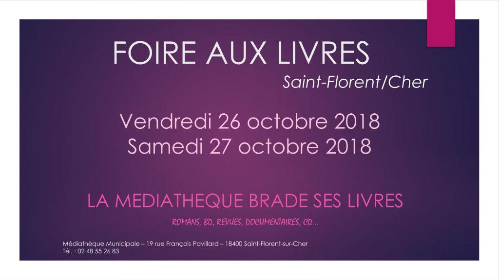 Braderie Saint Florent sur Cher