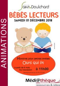 Bébés Lecteurs la médiathèque de Saint-Doulchard!