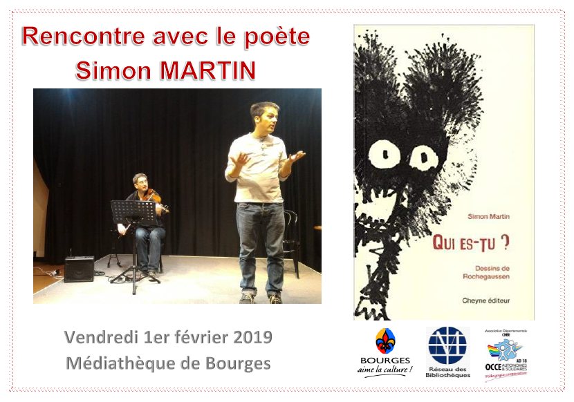 Rencontre avec le poète Simon Martin