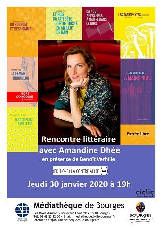 Rencontre littéraire Bourges