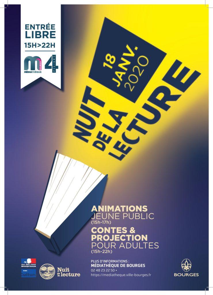 Nuit de la lecture Bourges